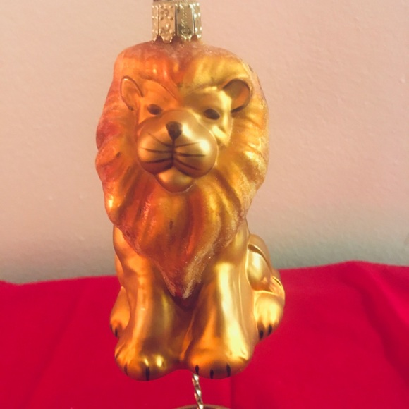 Other - The Cowardly Lion Christmas Tree Ornament